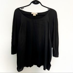 Michael Kors Mixed Media Blouse 2X